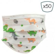 ProSafe Pack 50 Mascarillas Higienicas Infantiles