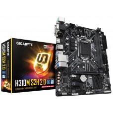 Gigabyte H310M S2H placa base LGA 1151 (Zócalo H4) Micro ATX Intel® H310 (Espera 4 dias)
