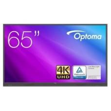 """Optoma 3651RK pantalla de señalización Panel plano interactivo 165,1 cm (65"""") LED 4K Ultra HD Negro Pantalla táctil Procesador incorporado Android 8.0 (Espera 4 dias)"""