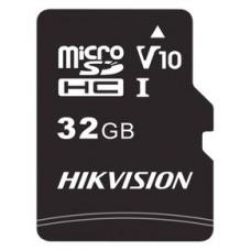 HIKVISION MICROSDHC/32G/CLASS 10 AND UHS-I  / TLC R/W SPEED 92/20MB/S , V10 (Espera 4 dias)