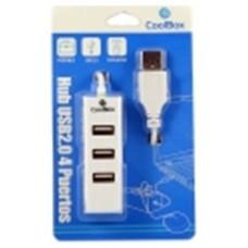 HUB USB COOLBOX  4 USB 2.0 HUBCOO190 [I304B]
