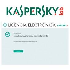 ANTIVIRUS ESD KASPERSKY 3 USUARIOS LIC ELECTR (Espera 4 dias)