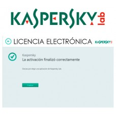 ANTIVIRUS ESD KASPERSKY 5 US RENOVA LIC ELECTR (Espera 4 dias)