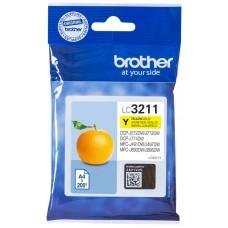 CARTUCHO BROTHER LC3211Y 200PG AMARILLO (Espera 4 dias)