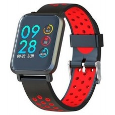 SMARTWATCH MULTISPORT HELSE COLOR RED LEOTEC (Espera 4 dias)