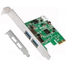 TARJETA PCI EXPRESS USB 3.0 + ADAPTADOR PERFIL BAJO LL-PCIEX-USB (Espera 5 dias)