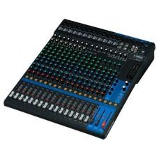 Yamaha MG20 mezclador DJ 20 canales 20 - 48000 Hz Negro (Espera 4 dias)