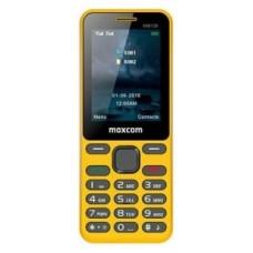 MOVIL SMARTPHONE MAXCOM CLASSIC MM139 AMARILLO