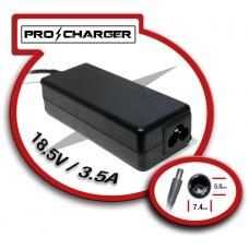 Carg. 18.5V/3.5A 7.4mm x 5mm 65w Pro Charger (Espera 2 dias)