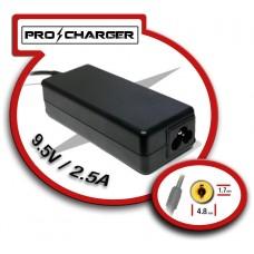 Carg. 9.5V/2.5A 4.8mm x 1.7mm 36w Pro Charger (Espera 2 dias)