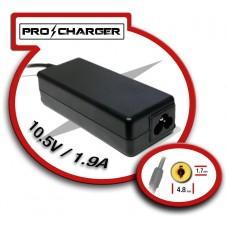 Carg. 10.5V/1.9A 4.8mm x 1.7mm 36w Pro Charger (Espera 2 dias)