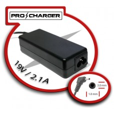 Carg. Ultrabook 19V/2.1A 3.0mm x 1.0mm 40w Pro Charger (Espera 2 dias)