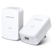 HOMEPLUG MERCUSYS MP500 KIT CON CONEXION LAN GIGABIT