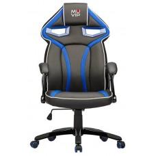 Silla Gaming GM300 Negro/Azul MUVIP (Espera 2 dias)