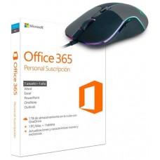 PROMO MICROSOFT OFFICE 365 PERSONAL + RATON BRAVE (Espera 4 dias)