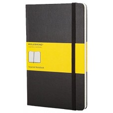 Moleskine Notizbuch Classic A5 Schwarz cuaderno y block Negro (Espera 4 dias)