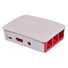 Raspberry caja oficial para Pi 3 - Color rojo/blanco