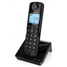 Alcatel S250 Teléfono DECT Negro Identificador de llamadas (Espera 4 dias)