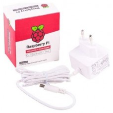 Raspberry alimentador oficial para Pi 4 - USB-C - 5V -