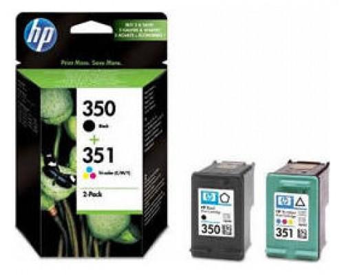 HP 350/351 CARTUCHO DE TINTA HP350/351 NEGRO - TRICOLOR (SD412EE) (Espera 4 dias)