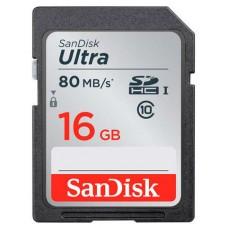SanDisk Ultra memoria flash 16 GB SDHC UHS-I Clase 10 (Espera 4 dias)