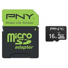 PNY Performance memoria flash 16 GB MicroSDHC UHS-I Clase 10 (Espera 4 dias)