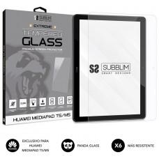 SUBBLIM Protector de Cristal Templado Extreme Tempered Glass HUAWEI MEDIAPAD T5/M5 (Espera 4 dias)