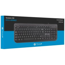 Talius - Teclado KB502 Advance - QWERTY - Conexion USB