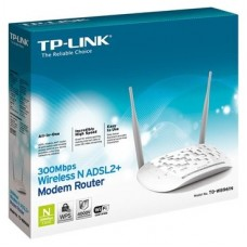 Tp-Link - Modem Router Wifi ADSL2+ W8961N 300MB 4P ETH