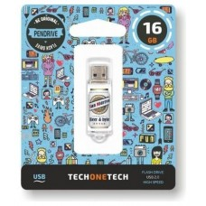 PENDRIVE 16GB TECH ONE TECH BEERS   BYTES