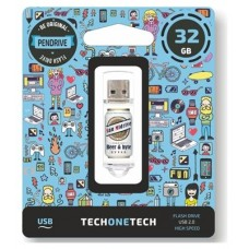 PENDRIVE 32GB TECH ONE TECH BEERS   BYTES