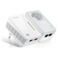 POWERLINE WIFI TP-LINK AV600 KIT 2 UDS