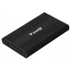 """CAJA EXTERNA 2.5"""" SATA TOOQ NEGRA USB 2.0 (Espera 4 dias)"""