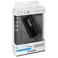 Tooq PowerBank 5200maH LED USB 5V
