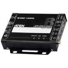 Aten Receptor HDMI HDBaseT con desembebedor de audio (4K a 100 m) (HDBaseT Class A) (Espera 4 dias)