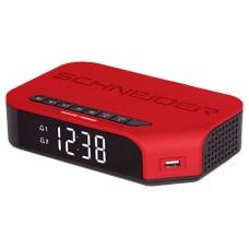 SCHNEIDER CONSUMER SC310ACL Reloj despertador digital Rojo (Espera 4 dias)