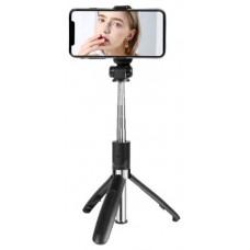 Trípode + Palo Selfie Bluetooth SS08 XO (Espera 2 dias)